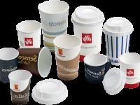 Kaffeebechern aus hartpapier