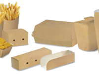 Fast food Take away Bio fast food take away french fries sandwich gobelet bio