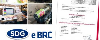 SDG certification: new certification BRC, the global standard for packaging and packaging materials