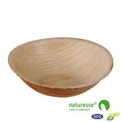 Tiefer Teller aus Palmblatt ø 95 mm - 15022