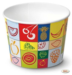 520 ml Paper ice cream cup - 450