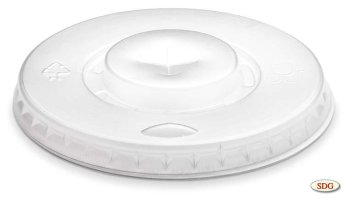 Plastic lid for 37M cup - 37M-1