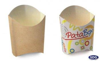 Mini box for fried food - 601-81 / 601-80