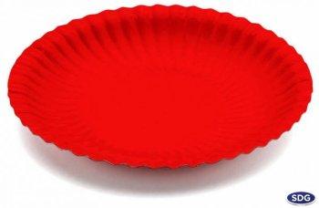 Round ø18 cm paper dish - 201
