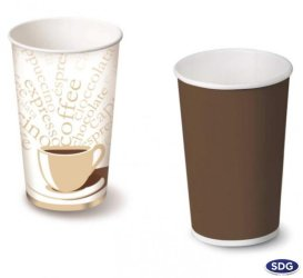 16 OZ - 550 ml Paper coffee cup - 109