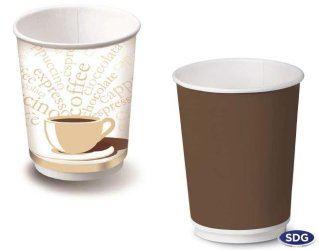 9 OZ - 278ml Double wall paper cup - 105DW
