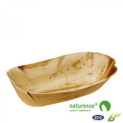 Padiga bowl in 23x11 cm palm leaves - 5284