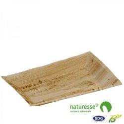 17x25 Rectangular tray in palm leaf – 3394 (ex 820)