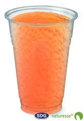 CUP IN TRANSPARENT PLA  200ml - N391