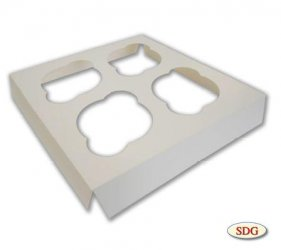 INSERTION 4 HOLES FOR MUFFIN BOX –  705-3