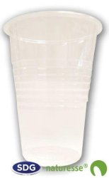COLD DRINK CUP IN TRASPARENT PLA 200ml - cod. 5013