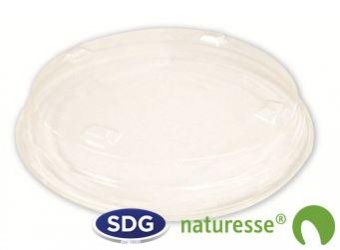 TRANSPARENT PLA LID FOR CUP S80 - S80-1