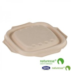 CELLULOSE PULP LID NATURE - 15361