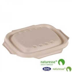CELLULOSE PULP LID NATURE