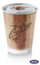 BIO PALM LEAF DRINKING CUP 42M-60