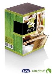 Spatule en bois pour café 11,4 cm - 5092