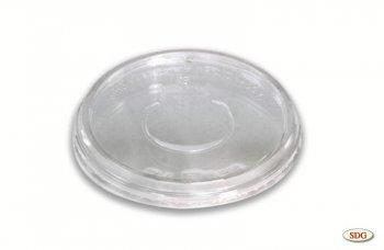 Couvercle transparent en PLA ø 14,5 cm pour barquette 2757 - 2758
