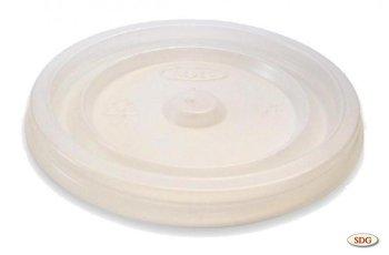 Couvercle plat en polystyrène pour gobelet 6oz – 6oz-1
