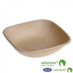 PLAT EN PULPE DE CELLULEUSE 500ML NATURE - 14966
