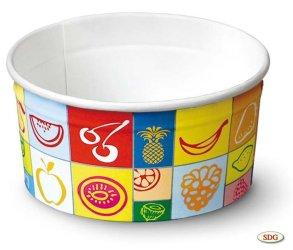 Coppa gelato in carta 175 ml - 100