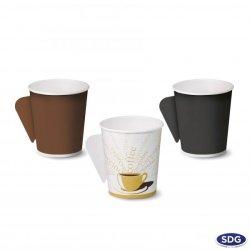 Bicchiere di carta con manico da 4 OZ - 125ml - 106/M-