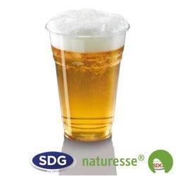 Bicchiere trasparente in PLA da 500 ml - 2825