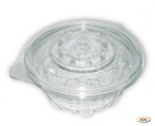 Vaschetta trasparente in PLA 500ml - SPTR500