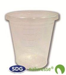 PLA transparent cup for 30 ml - 3172 ex 1030