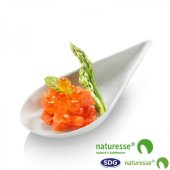 """CELLULOSE PULPE FINGER FOOD """"SPOON"""" LITTLE TRAY - 15357"""