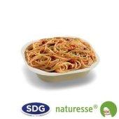 Assiette carrée fond en pulpe de cellulose 17x17x3,5h cm - 11977 ex 416/P