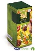 Forchettina/sticker in legno 8,5 cm - 4626