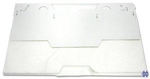 Packaging of cardboard toilet seat covers