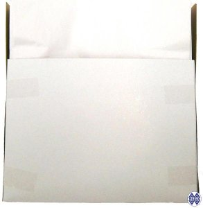 Hygienic toilet paper seat cover refilling box - top opening