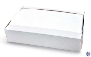Hygienic toilet paper seat cover refilling box